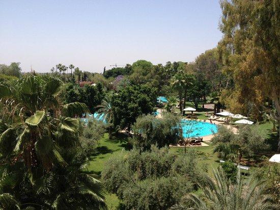 Es Saadi Marrakech Resort - Palace : Vue de la suite
