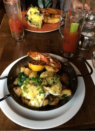 Whitefriar Grill: Lobster Has