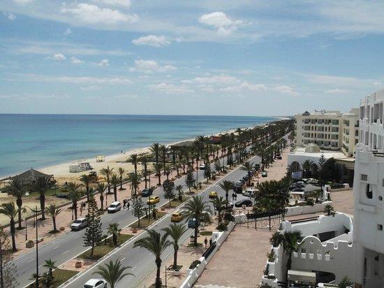 Yasmine Beach Resort: Вид из окна