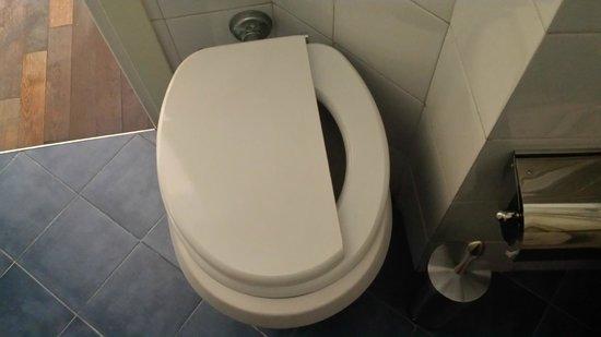 Best Sistine B&B: Half toilet seat!