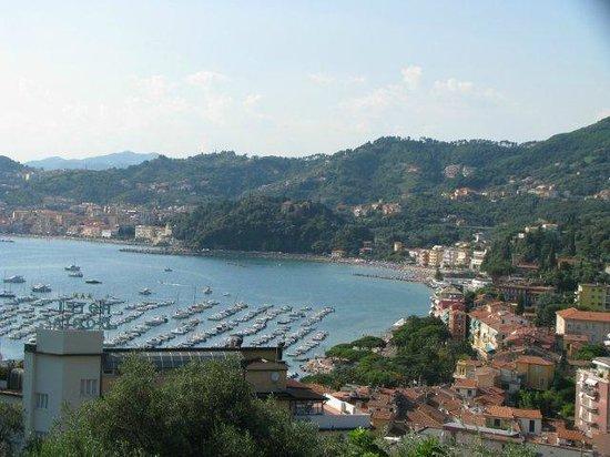 Doria Park Hotel: Golfo dei Poeti and Hotel view