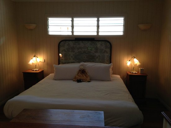 Allumbah Pocket Cottages: Ready for bed