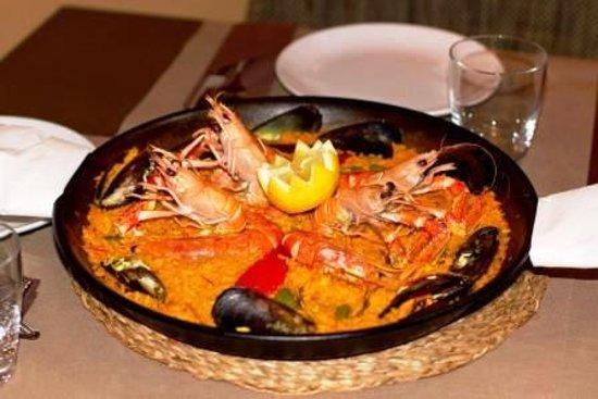 Restaurant Sa Casa : Paella de marisco