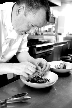 Shakesby's: Mark prepares a duo of game on black pudding and potato rosti