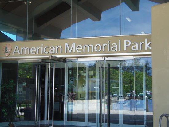 American Memorial Park : 資料館入口