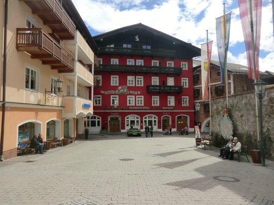 Hotel Alte Post: aussen Bereich