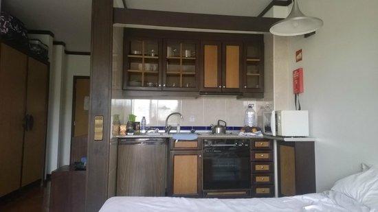 Hotel Paraíso de Albufeira : Kitchenette