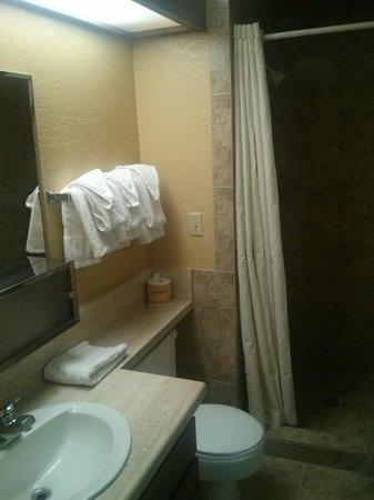 Travelodge Kanab: Ванная комната с душем