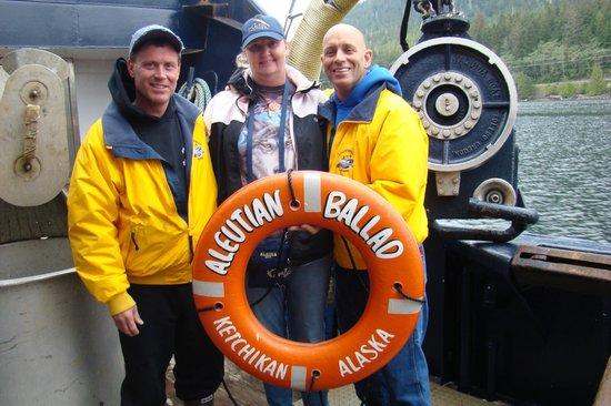 Bering Sea Crab Fishermen's Tour : Paul, Danny and Corey