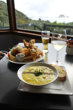 The Bay House Restaurant: The best seafood chowder