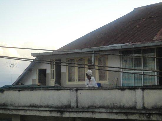 Hotel Brajas: вид с балкона