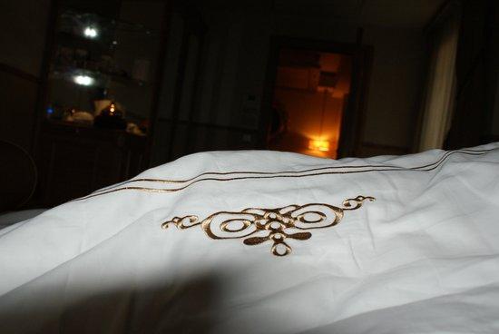 Hotel Sultania: schne wiesse Bettwesche