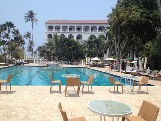 Hotel Caribe : Área da piscina