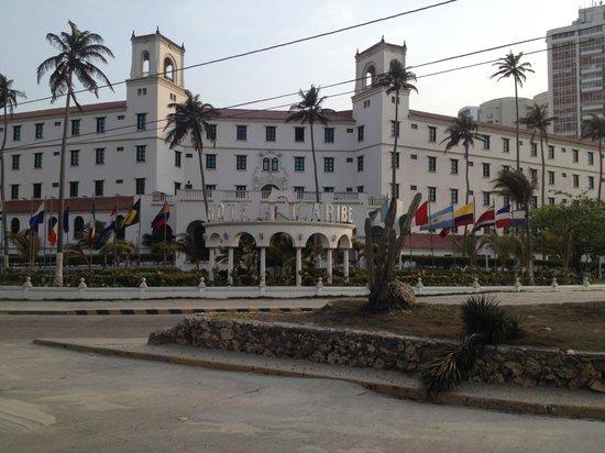 Hotel Caribe : Frente do Hotel