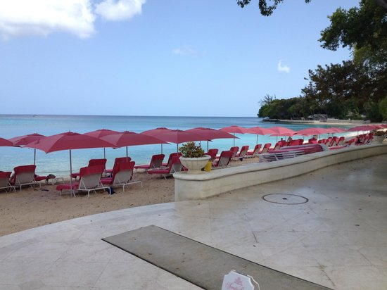 Sandy Lane Hotel: Beach