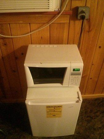 Prospector Motor Lodge: Очень удобно - холодильник и микроволновка )