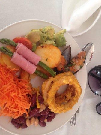 Akti Beach Village Resort : PrzepysZne hotelowe jedzenie