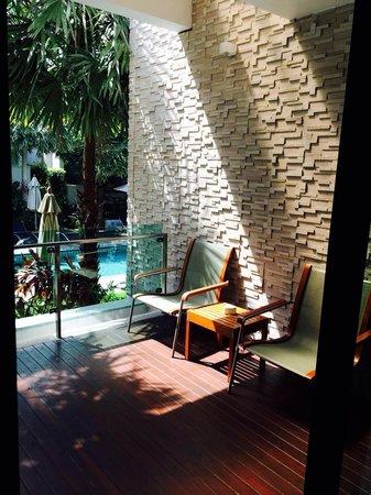 Wyndham Sea Pearl Resort Phuket: Balcony(One bedroom Deluxe Suite)