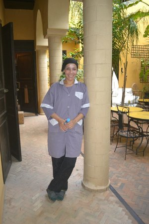 Riad Soleil d'Orient : Friendly staff Lelualain