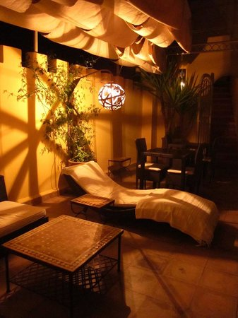Riad Cocoon: Perfect evenings on the terrace