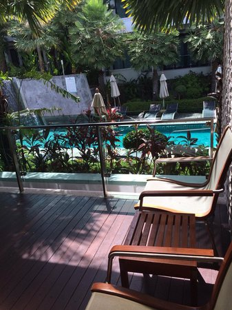 Wyndham Sea Pearl Resort Phuket: View from One bedroom Deluxe Suite