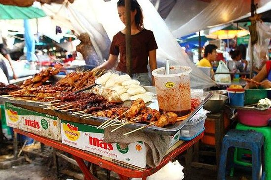 Bangkok Food Tours: еда