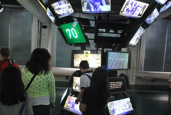 Museo del Fútbol: Futebol e o Mundo