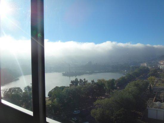 Hotel Carlton Antananarivo Madagascar: Вид утром