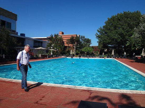Hotel Carlton Antananarivo Madagascar: Времени на купание не было.
