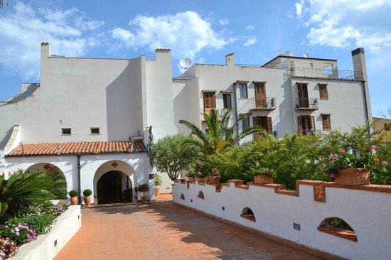 Hotel Baia del Capitano: Ingresso hotel