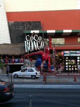 Coco Bongo Cancún: Entrada