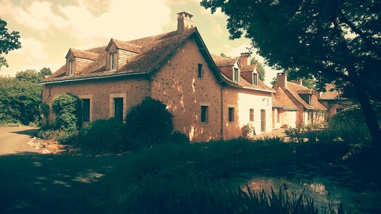 La Mouchetiere: Arrivée sur le hameau