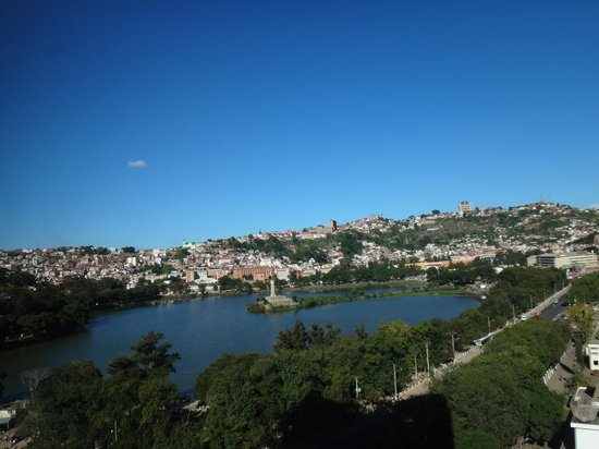 Hotel Carlton Antananarivo Madagascar : Вид из номера