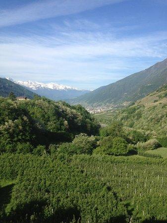 Valchiosa : Panorama dalla camera 17