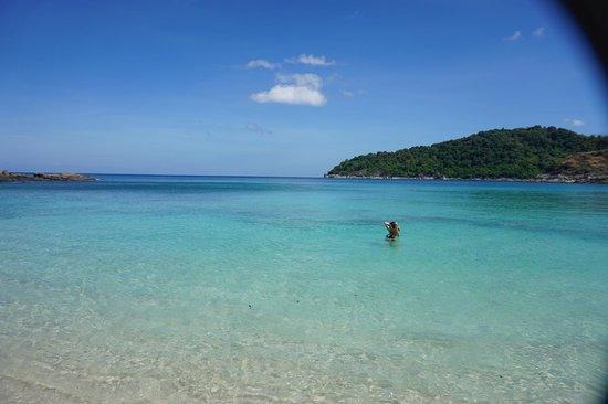 Freedom Beach: Clear water