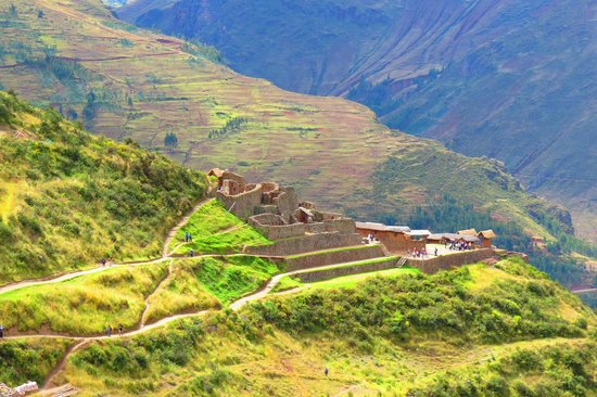 Pisac: Ruins by the entrance