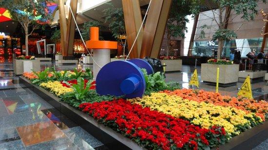 ARIA Resort & Casino: main lobby