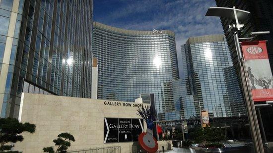 ARIA Resort & Casino: front side