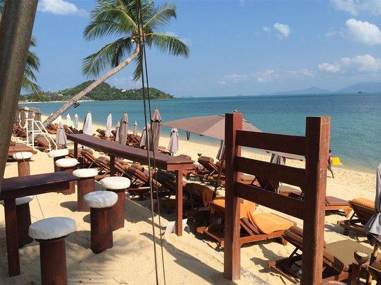 Bandara Resort & Spa : by the beach bar