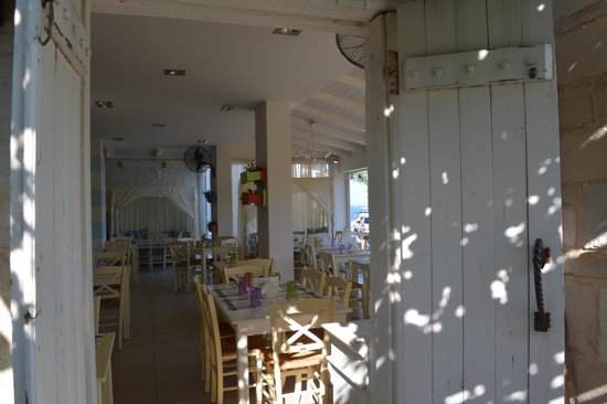 Eva Mare Hotel & Apartments : Restaurant for breakfast, lunch or dinner (a la carte or menu YAMAS