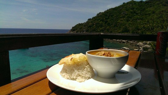 Ao Muong Resort: Yummy Mussaman curry