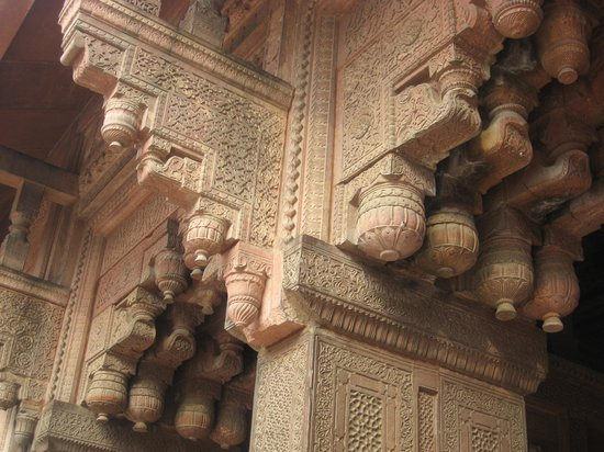 Agra Fort: Exquisite detail