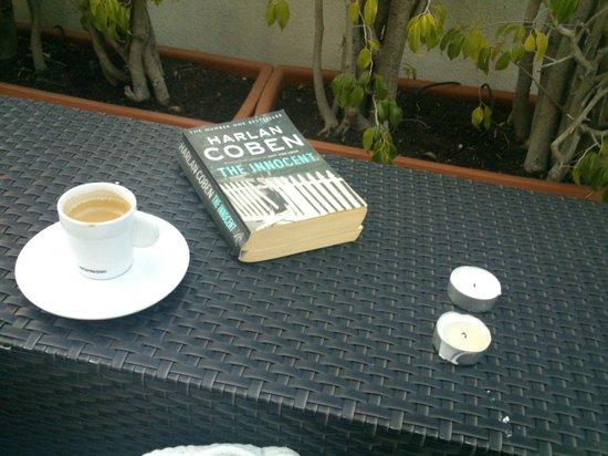 Hotel Lisboa Plaza : Vários livros disponíveis nos quartos e áreas comuns, boa companhia para um café no terraço