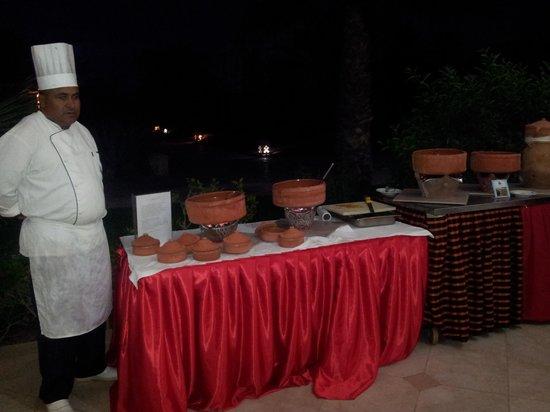 Zita Beach Resort: couscous !
