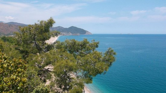 Cirali, Turkiet: another view of cove