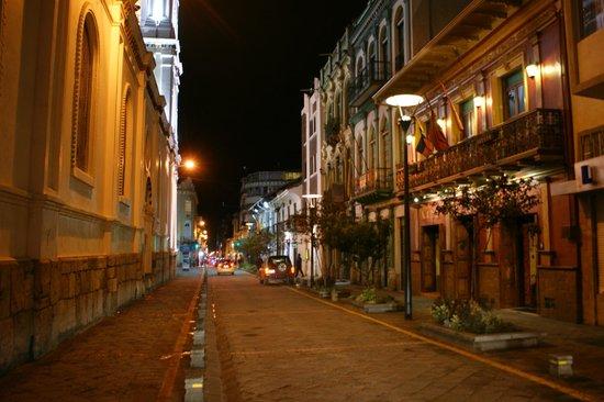Morenica del Rosario Hotel: Fachada