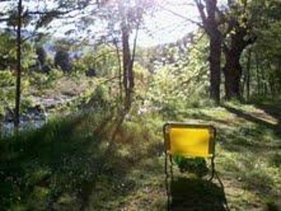 Camping Chantemerle : Vue de notre combi