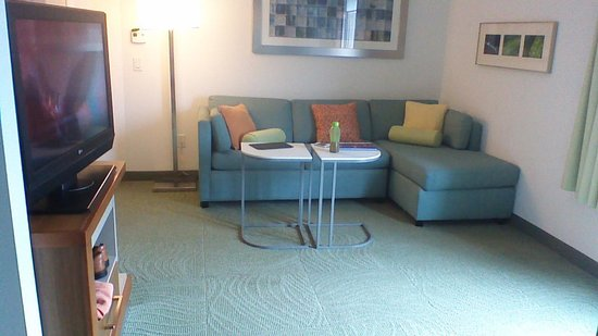 SpringHill Suites Savannah Downtown/Historic District: Living area