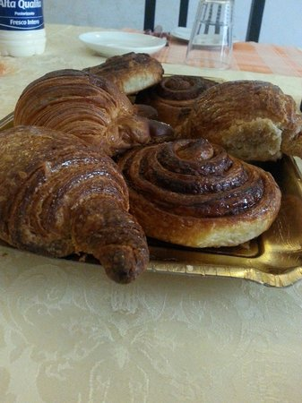 Kosher Bed & Breakfast La Casa di Eva: Squisita colazione