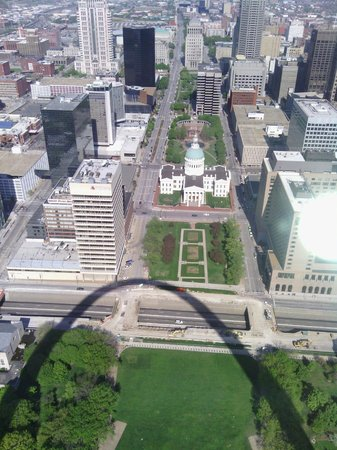 Gateway Arch: View from the Arch